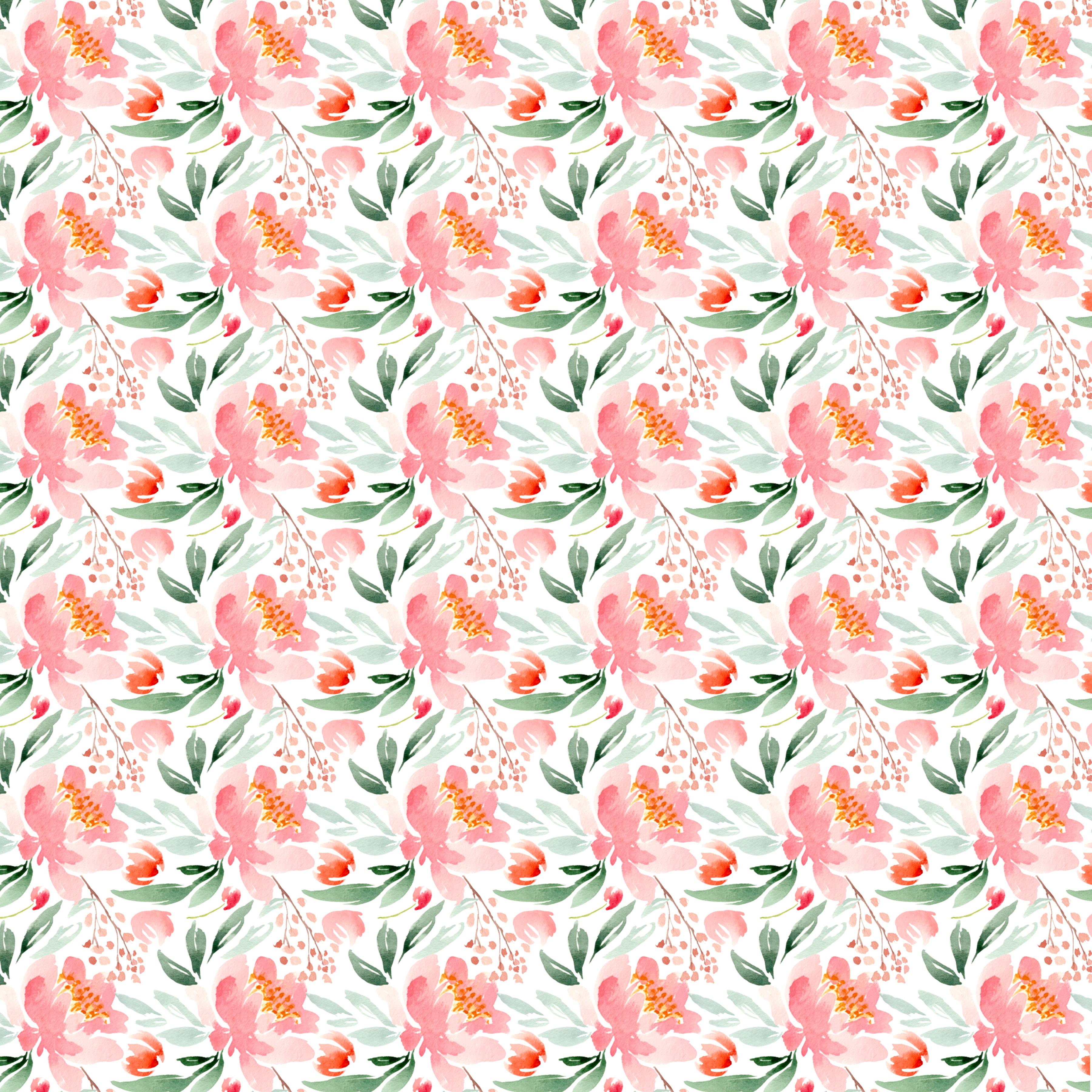 freebie monday floral digital paper from sweet set kim thoa designs